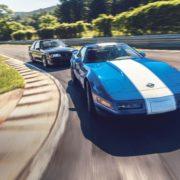 1996 Chevrolet Corvette Grand Sport and 1989 Saleen Mustang. Photo by DW Burnett