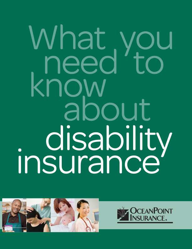 Disability Insurance Brochure